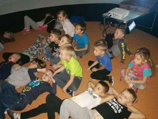 Kino sferyczne w przedszkolu