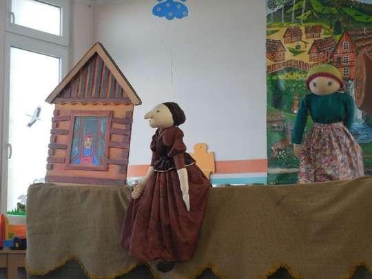Spektakl teatralny w przedszkolu
