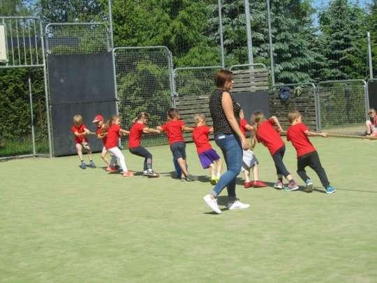 Olimpiada Przedszkolaków w Dąbrówce