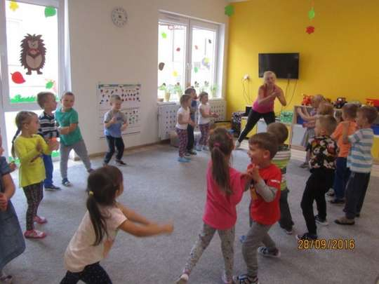 Tańczyliśmy zumbę w przedszkolu