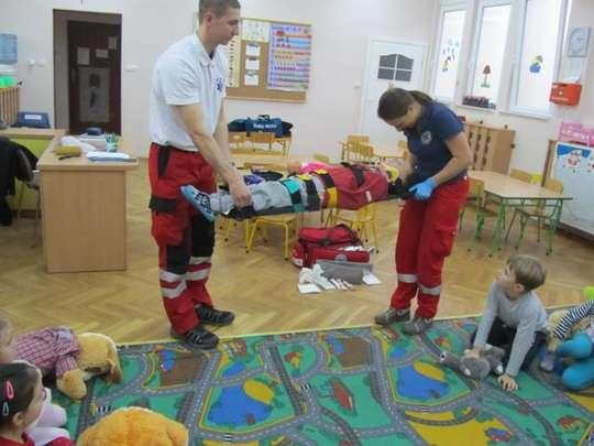 Zajęcia z pierwszej pomocy przedmedycznej w przedszkolu