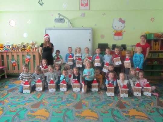 Święty Mikołaj w naszym Przedszkolu