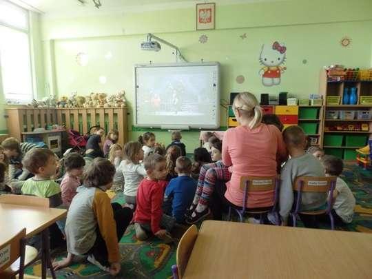 Internetowy teatr TVP w przedszkolu