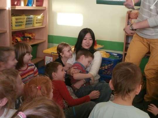 Wyjątkowi goście w przedszkolu