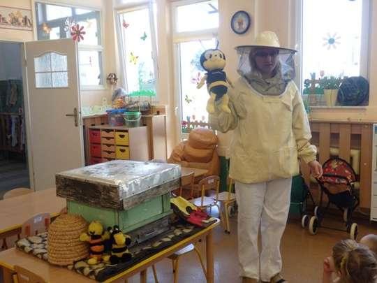 Pszczelarz w przedszkolu