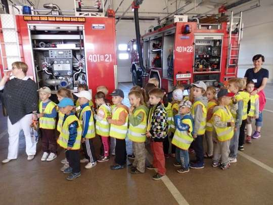 Z wizytą w Straży Pożarnej
