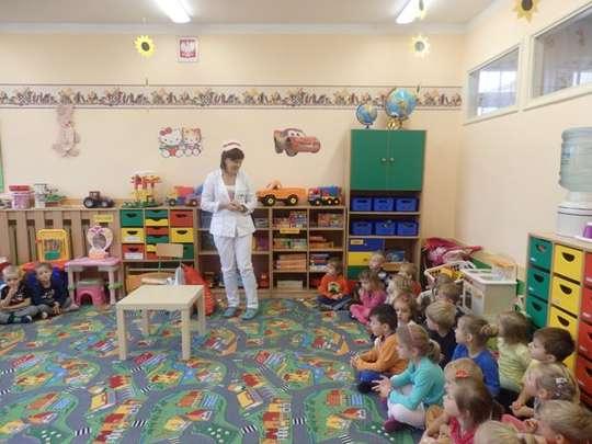 Pani Pielęgniarka w przedszkolu