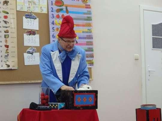 Iluzjonista w przedszkolu