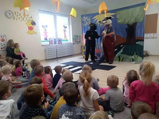 Teatrzyk dziecięcy w przedszkolu