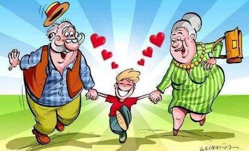 Komunikat - Dzień Babci i Dziadka w Przedszkolu