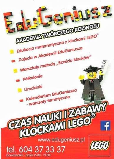 Zajęcia EDUGENIUSZ - Akademia Twórczego Rozwoju
