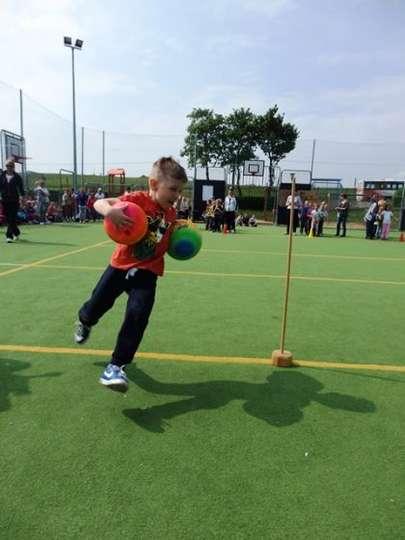Olimpiada sportowa przedszkolaków w Niedarzynie
