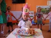 Urodziny Dawida w Biedronkach
