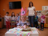 Urodziny Laury w Biedronkach