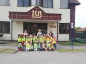 Wizyta Słoneczek w Zakładzie Ubezpieczeń Społecznych